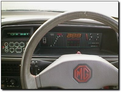 The Montego's digital instruments and talking computer