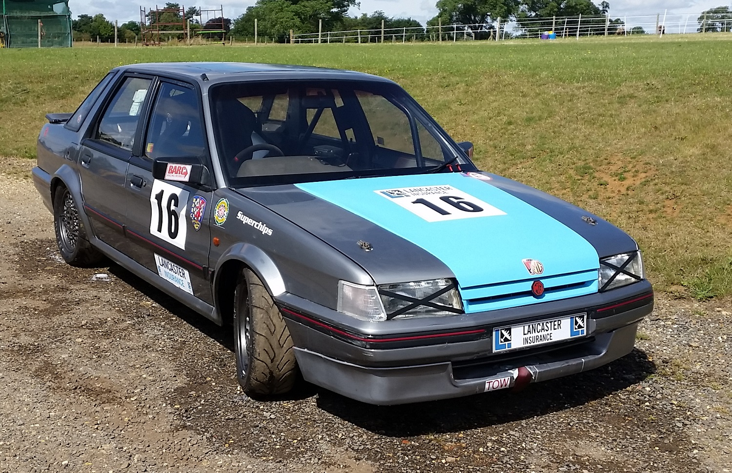 MG Montego race car - Maestro & Montego Owners Club